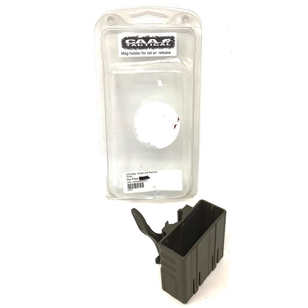 CAA Tactical AR-15 Magazine Holster for Rail With Release, ODG, New