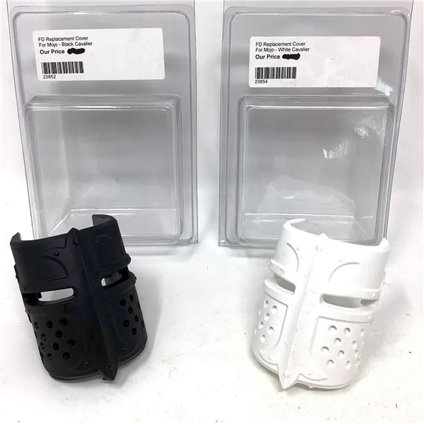 Fab Defense Replacement Cover for Mojo, 1 Black Spartan, 1 White Spartan