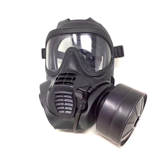 Scott Gas Mask, Black
