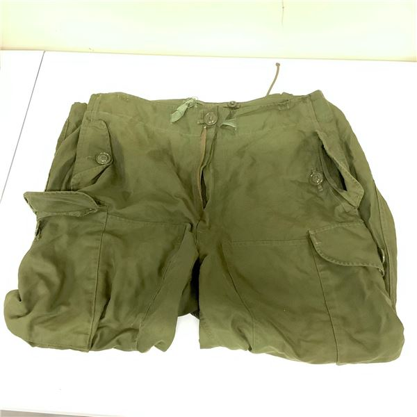 Trousers Extreme Cold Weather, Wind Proof Size 5 Regular Medium