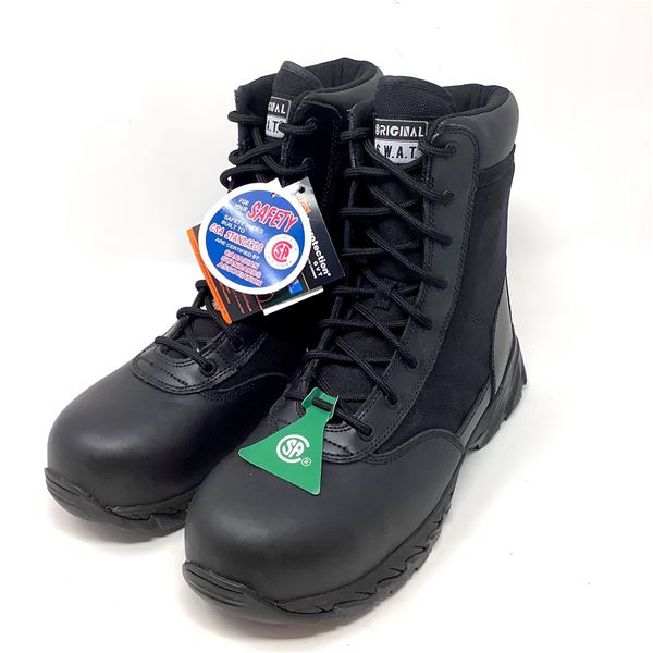 SWAT Original Boots, Size USA 11, Appear New