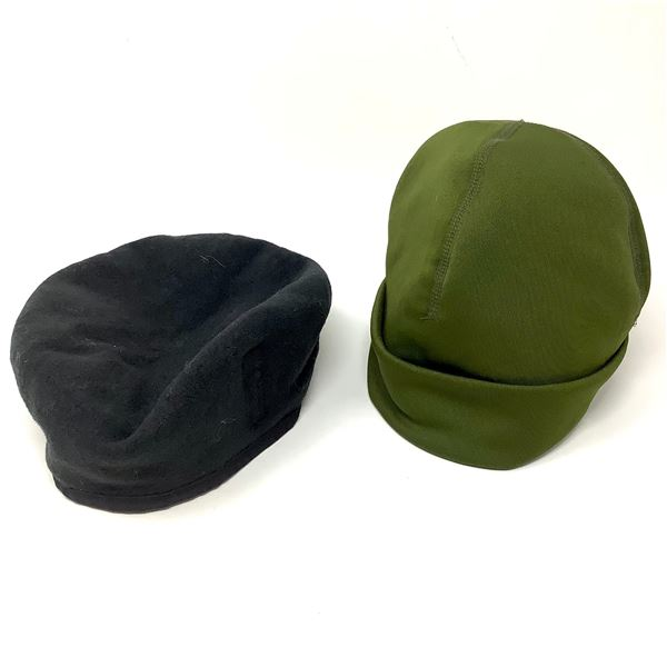Canadian Forces Beret Size 7 1/8 and CF Outer Shell Toque Size Small