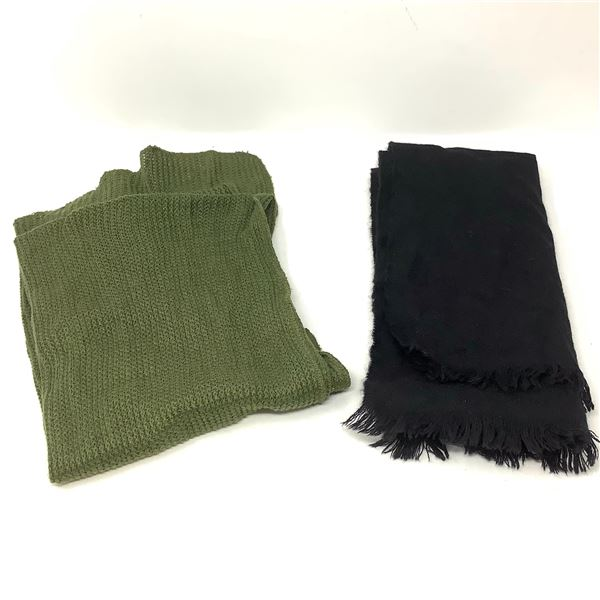 Canadian Navy Scarf and Canadian Army Scarf