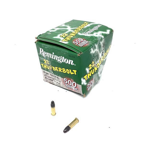 Remington Thunderbolt HV TB22B 22 LR Ammunition, Approx 500 Rounds