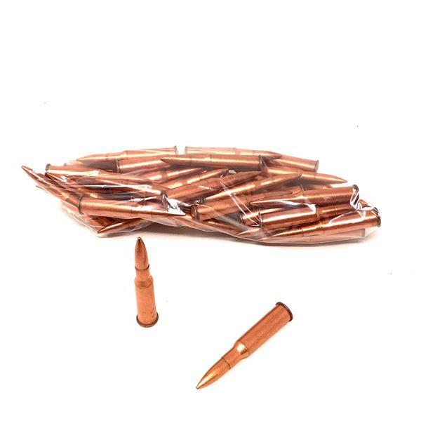 Loose Surplus 7.62 X 54R FMJ Ammunition, 45 Rounds