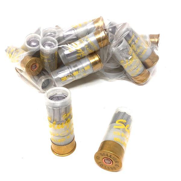 Loose S & B Sport 12 Ga Slug Ammunition, 25 Rounds