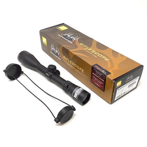 Nikon BuckMaster II BRA302UA Rifle Scope 3-9 X 40 mm With BDC Reticle