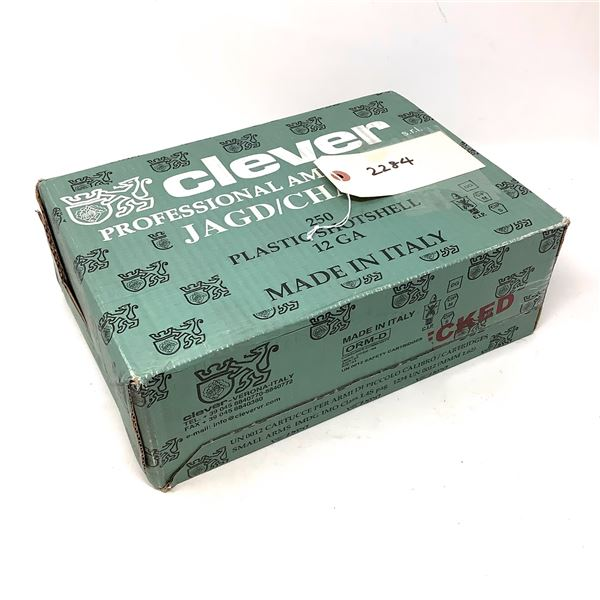 Clever Professional 12 Ga T3 New Pheasant #6 Lead Ammunition, 250 Rounds