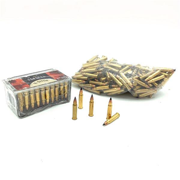 Loose Hornady 17 HMR V-Shok Ammunition, Approx 150 Rounds