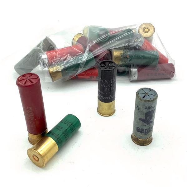 Loose Assorted 12 Ga Ammunition, 19 Rounds