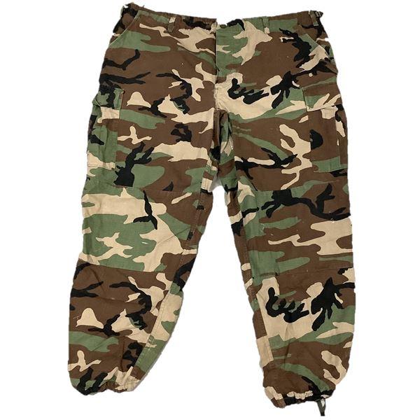 TruSpec US Military Pants, Woodland Camo, Size 2X Large