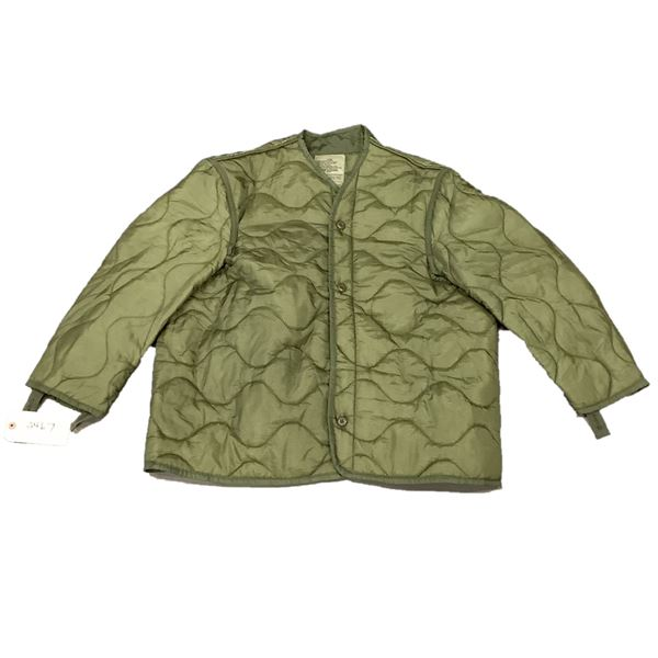 Military Cold Weather Coat Liner, X Large, ODG
