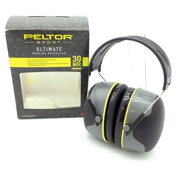 Peltor Sport 30 NRR Hearing Protection, New