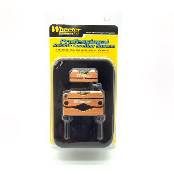Wheeler Professional Reticle Levelling System, New