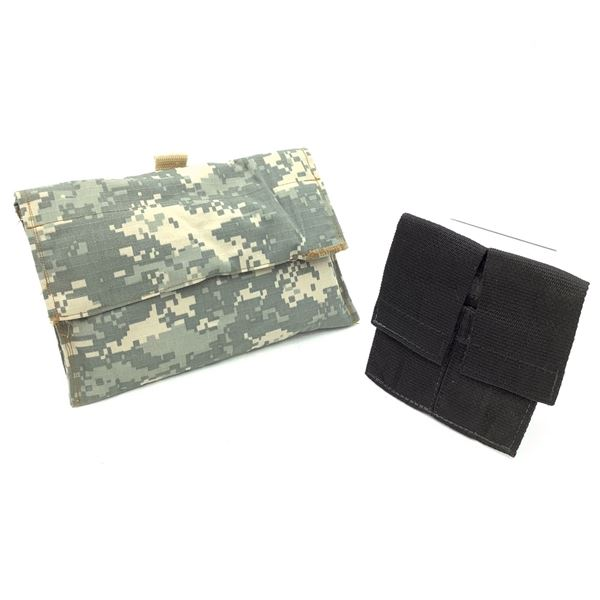 Padded Pouch for Webbing and Assault Systems Double Mag Pouch