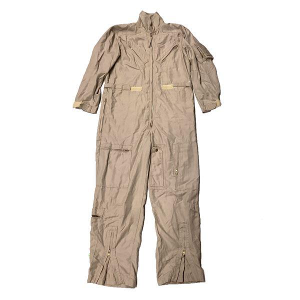 Flight Suit Ltd. Tan flying Coveralls