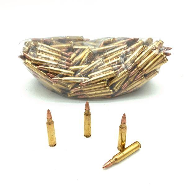 Loose 223 Rem 55 Grain FMJ Ammunition, 244 Rounds