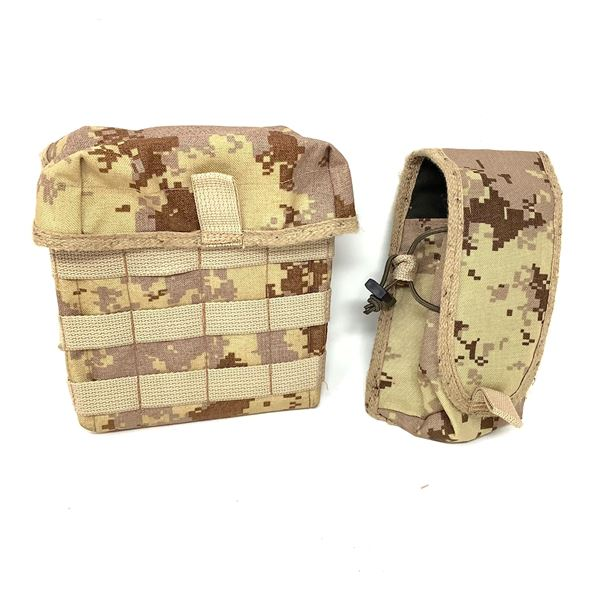 Rifle Magazine Pouch and Dump Pouch in Digicam