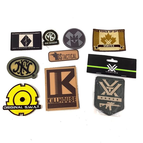 Variety of Patches X 10