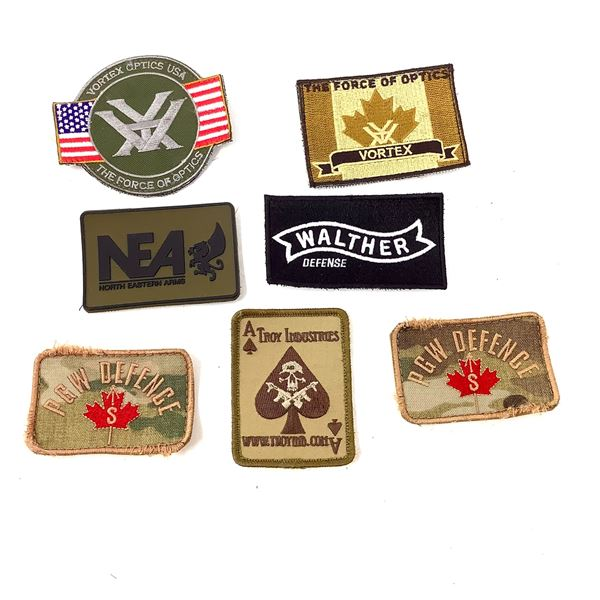 Variety of Patches X 7