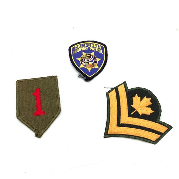 Patches X 3