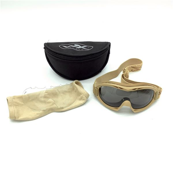 WileyX Goggles In Case, Tan