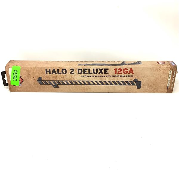 ATI Halo 2 Deluxe 12 Ga Heat Shield With Ghost Ring Sights, New
