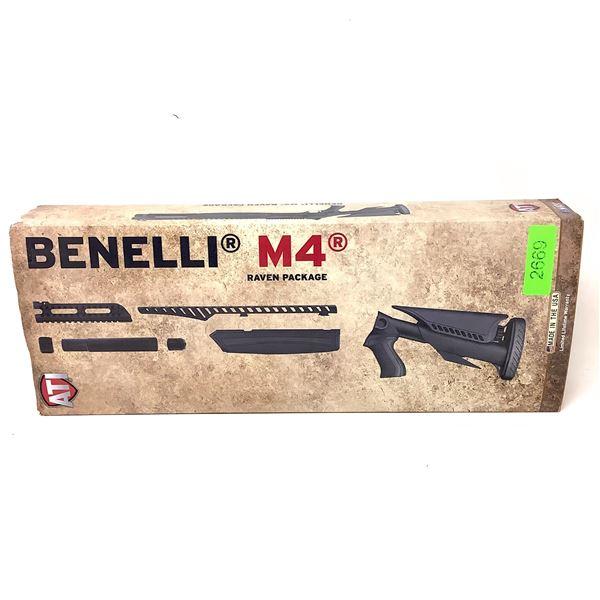 ATI Benelli M4 Raven Stock Pkg, New