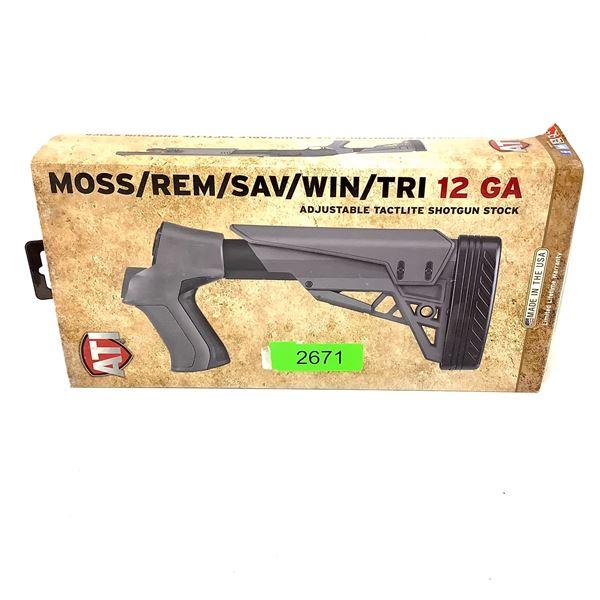 ATI Mossberg/ Remington/ Savage/ Winchester 12 Ga Adjustable Tactlite Shotgun Stock, New