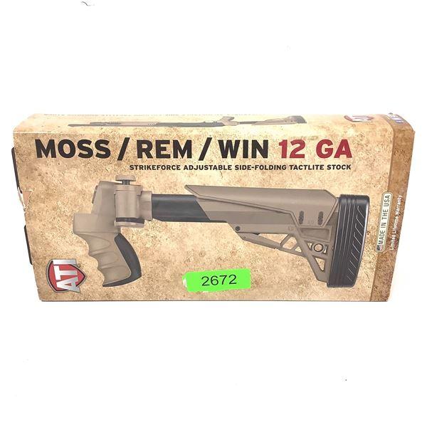ATI Mossberg/ Remington/ Winchester 12 Ga Strikeforce Adjustable Side Folding Tactlite Stock, New