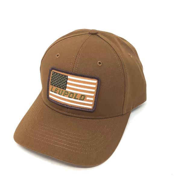 American Flag Leupold Hat, New