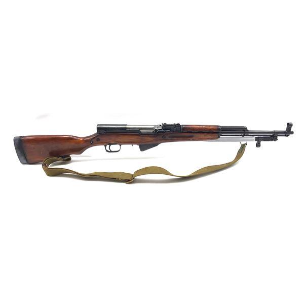 Soviet SKS Semi-Automatic Carbine, 7.62X39, Hardwood Stock, Surplus