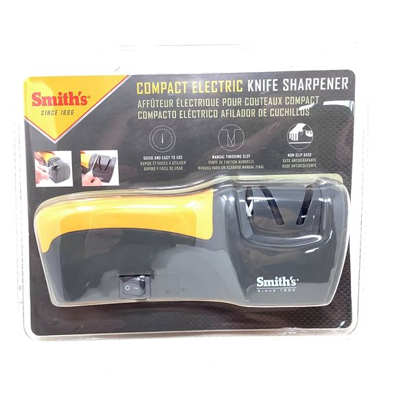 Smith's Compact Electric Knife Sharpener, New