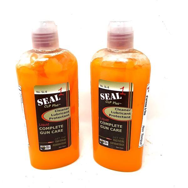 2 X Seal 1 CLP Plus Liquid Complete Gun Care, 8 Fl Oz., New