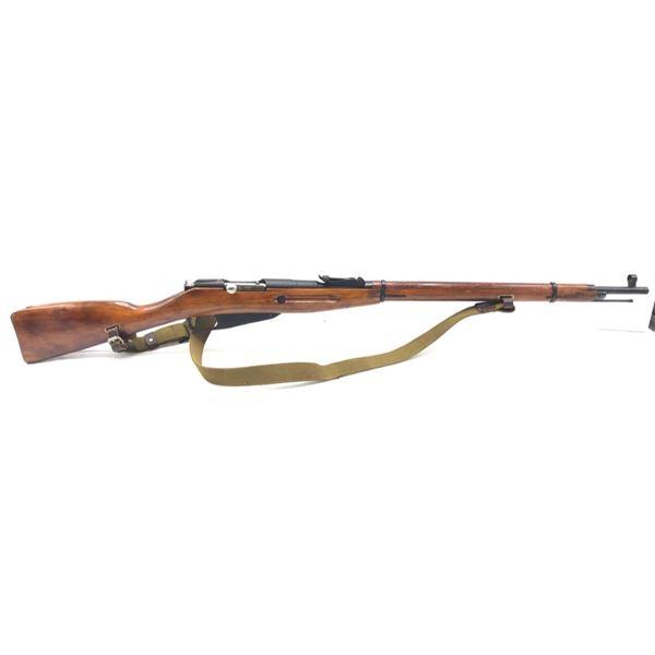 1942 Soviet Izhevsk Mosin-Nagant 1891/30 Bolt-Action Service Rifle, 7.62X54R, Surplus