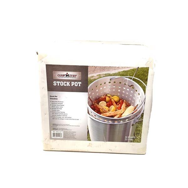 Camp Chef Stock Pot, 22 Liter, New
