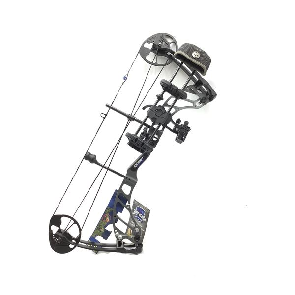 Quest Centec NXT Hunting Youth Bow Package, Recon Grey, New