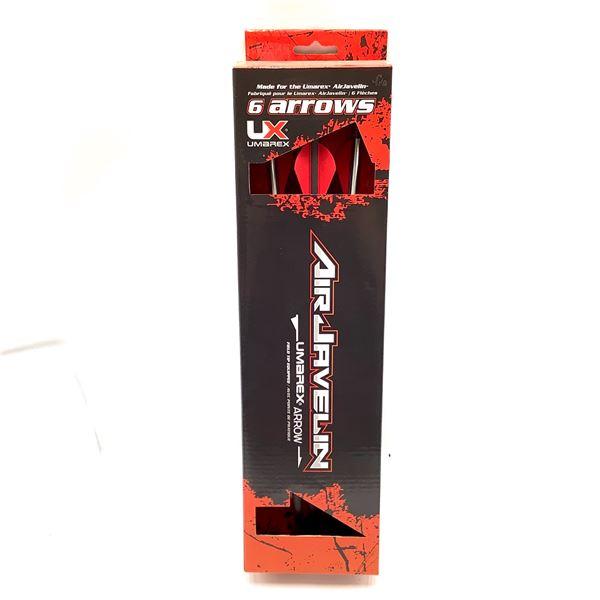 "Umarex Air Javelin 14.8"" Arrow 6 Pack, New"