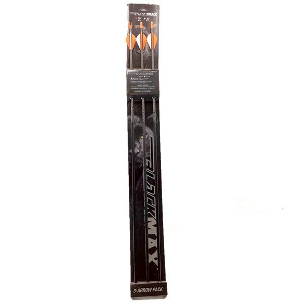 "BlackMax 30"" Arrow 3 Pack, New"