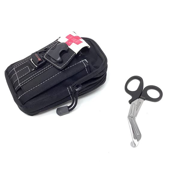 Medical Pouch with First Aid Scissors