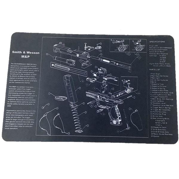 Smith & Wesson M & P Pistol Mat