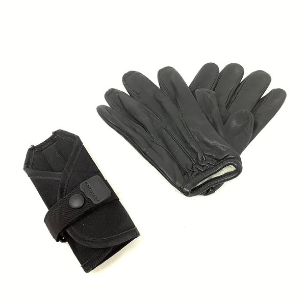 Leather Duty Gloves with Belt Keeper