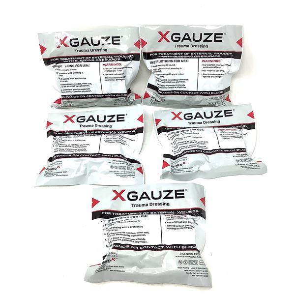 X Gauze Trauma Dressing X 5