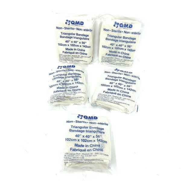 """Triangular Bandage 40"""" X 40"""" X 56"""" X 5"""