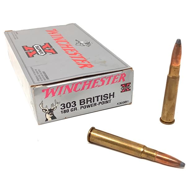 Winchester 303 British Ammunition, 15 Rounds
