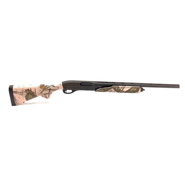 "Remington 870 Youth Model 20 Ga Pump Action Shotgun 21"" Barrel and Screw in Choke, Muddy Girl Camo"