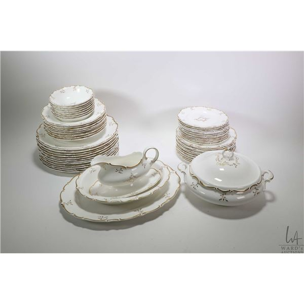 """Large selection of Royal Doulton """"Monteigne"""" bone china including settings for twelve of dinner plat"""