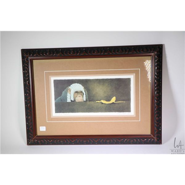 """Framed limited edition print """"Court of Appeals..."""" pencil signed by artist Will Bullas 106/850"""