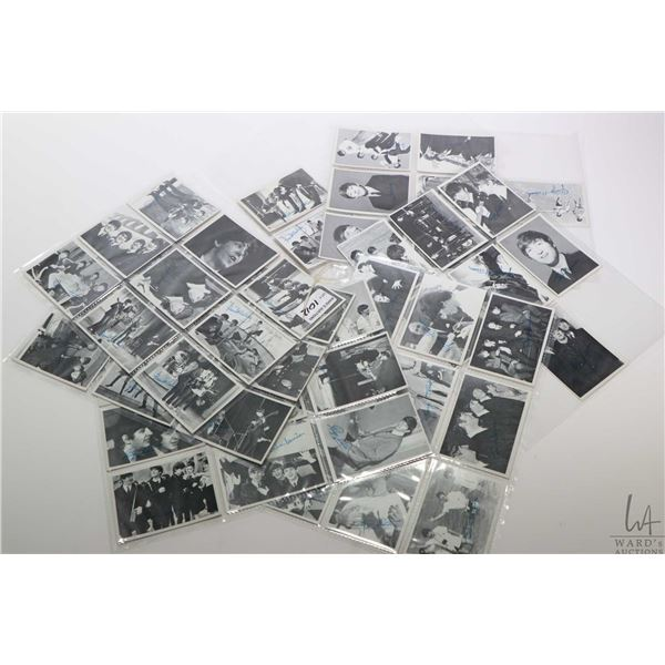 Complete set numbered 116-165, third series vintage Beatles black and white collector/trading cards,