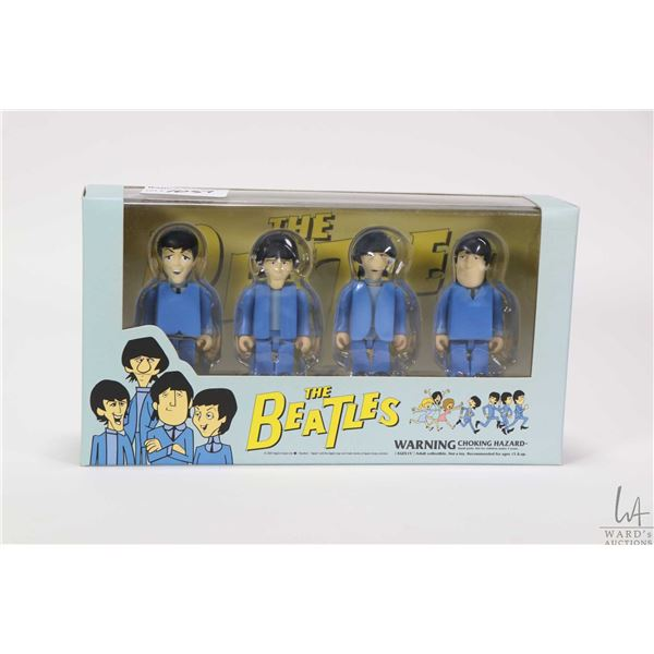 """Boxed set of Kubrick """"The Beatles- Can't Buy Me Love"""" 2 1/2"""" figurines"""